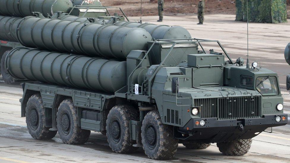 صواريخ إس 400