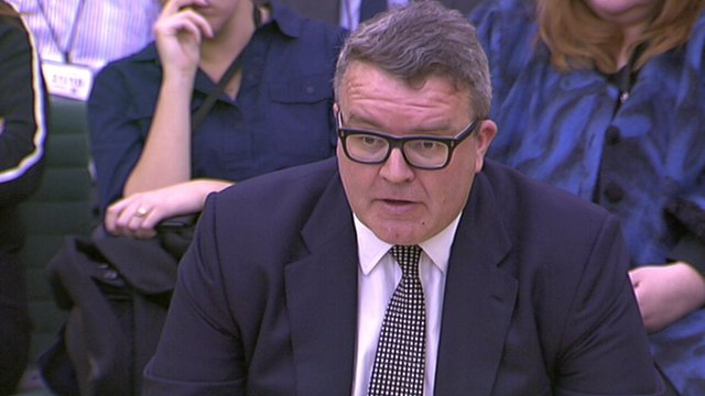 Tom Watson at the Home Affairs Select Committee hearing