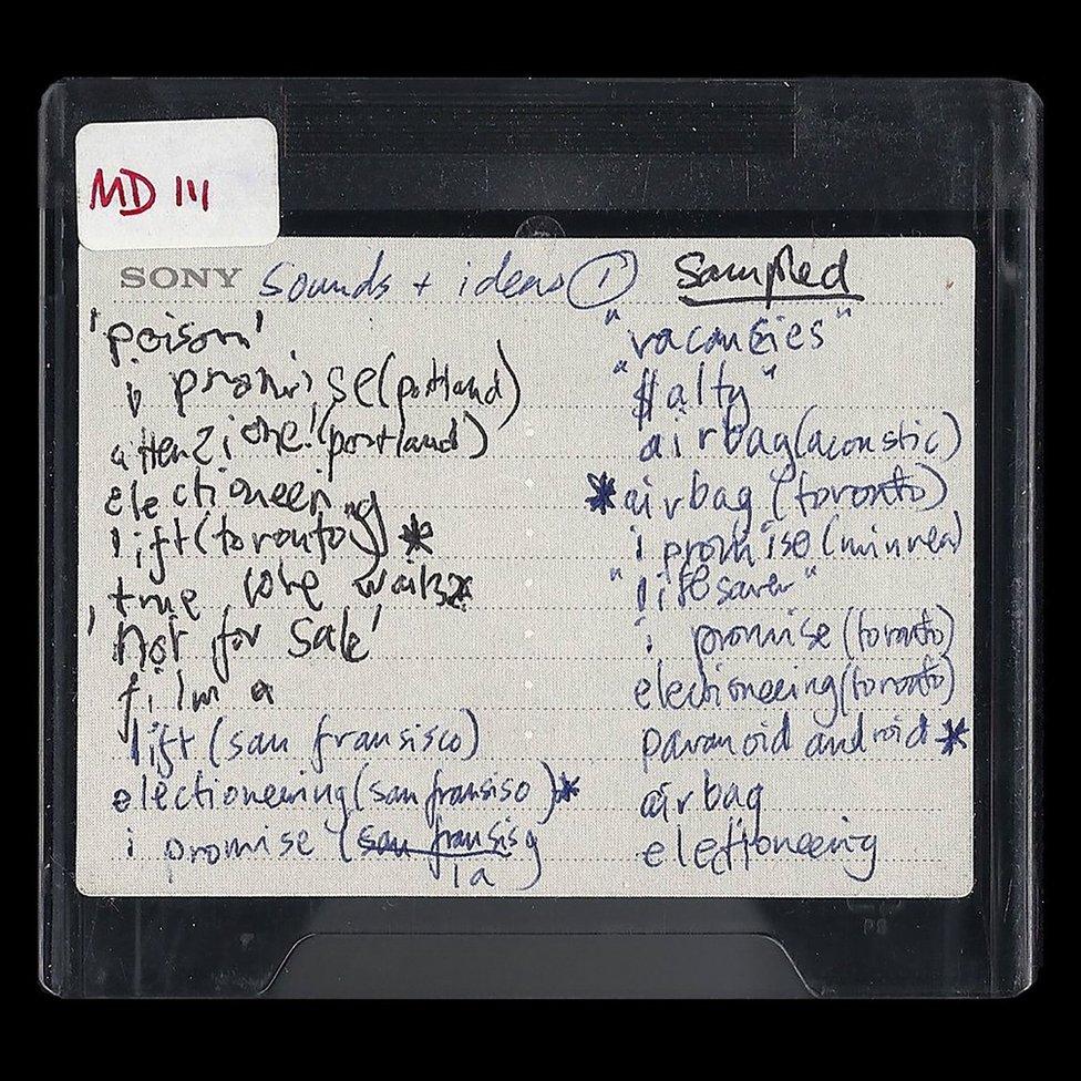 El minidisc de Radiohead