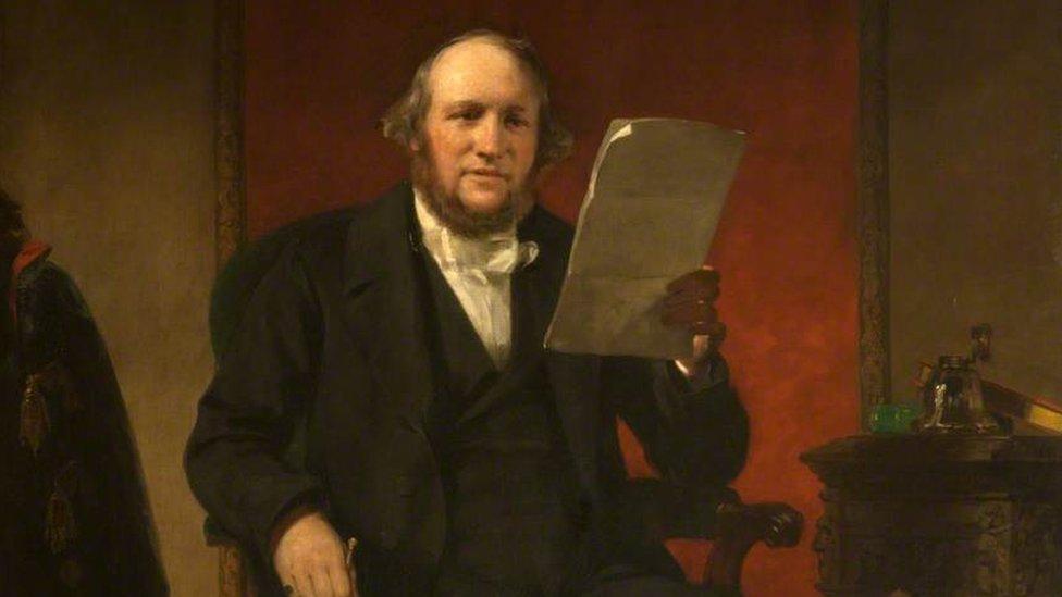 Retrato de Alexander Wood