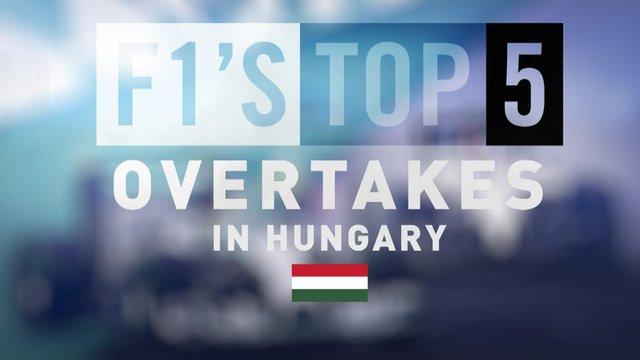 Hungarian Grand Prix: Top five overtakes