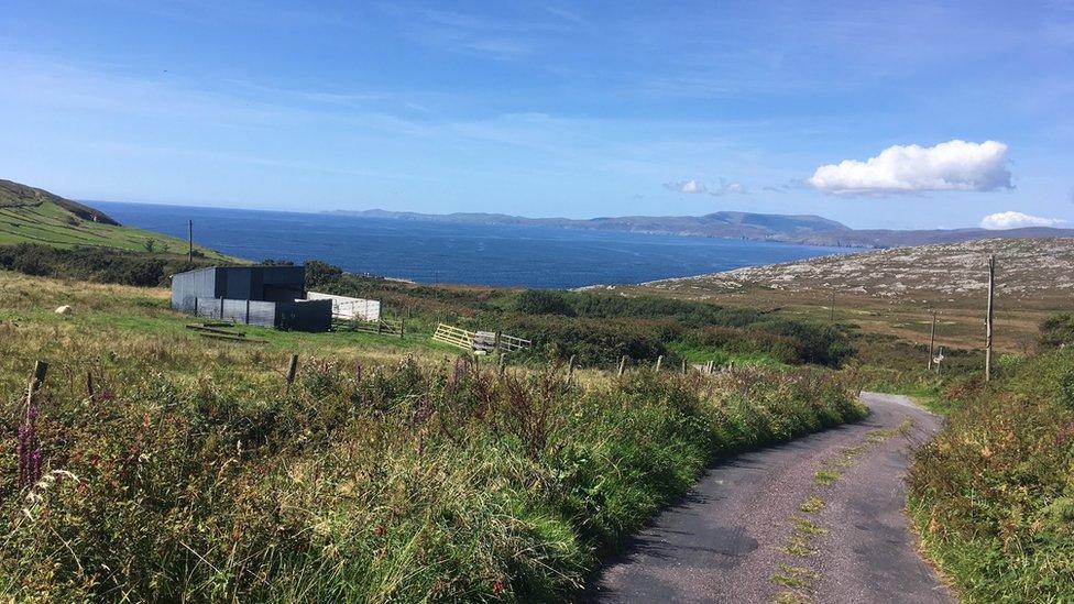 Ireland, near JG Farrell's home