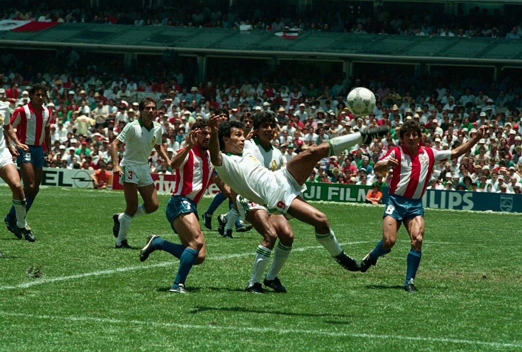 Hugo Sánchez fue uno de los mejores jugadores de México en el Mundial del 86 que jugaron de locales.