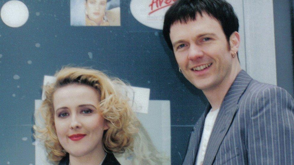 Sharon a Tony