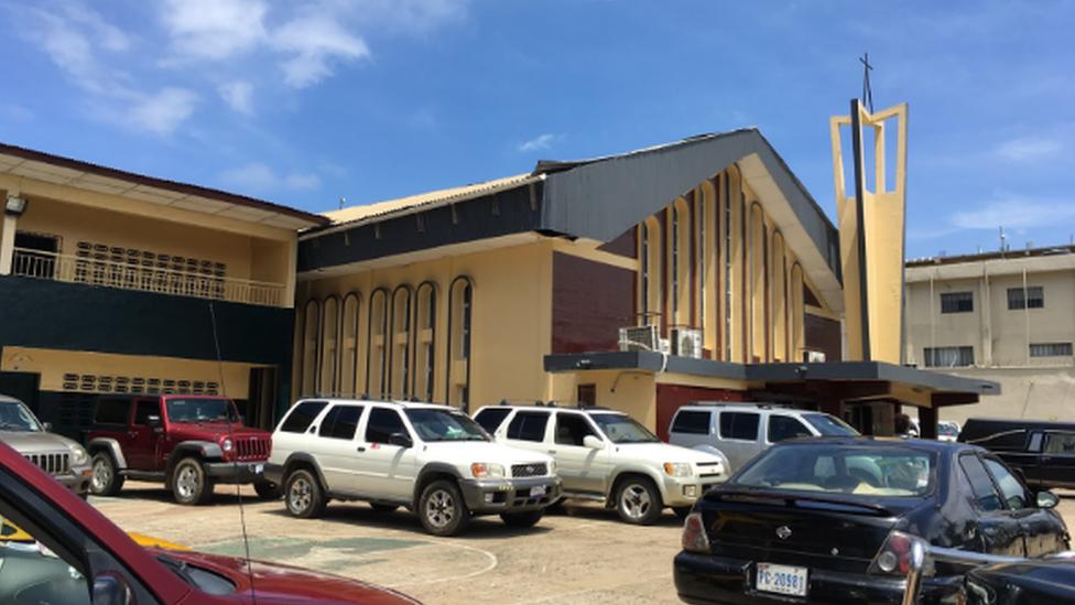 Gereja St Peter's Lutheran Monrovia