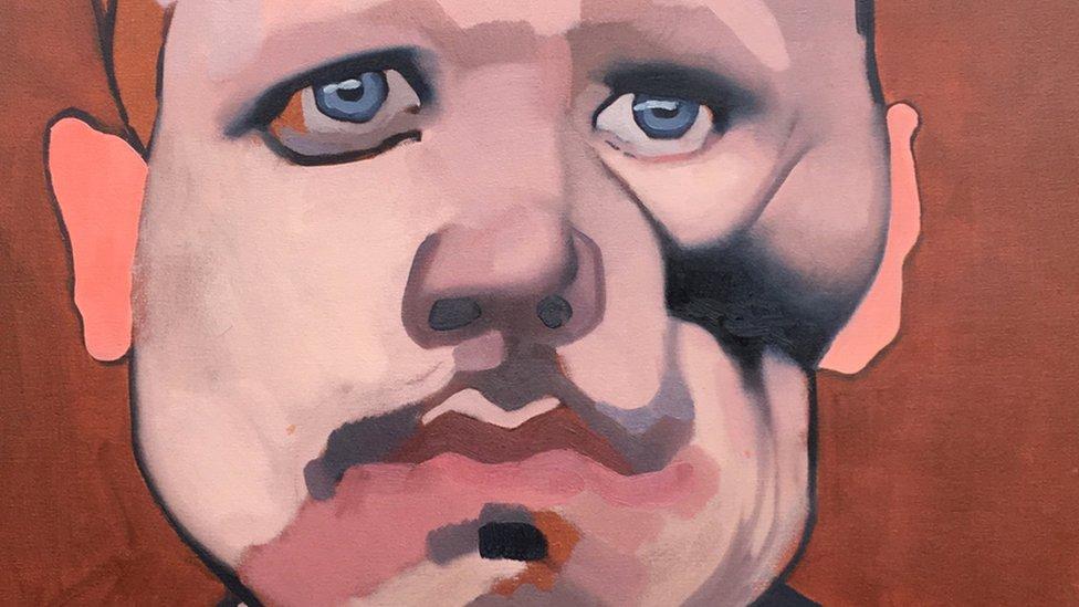 'Broken Faces' explored in new art exhibition