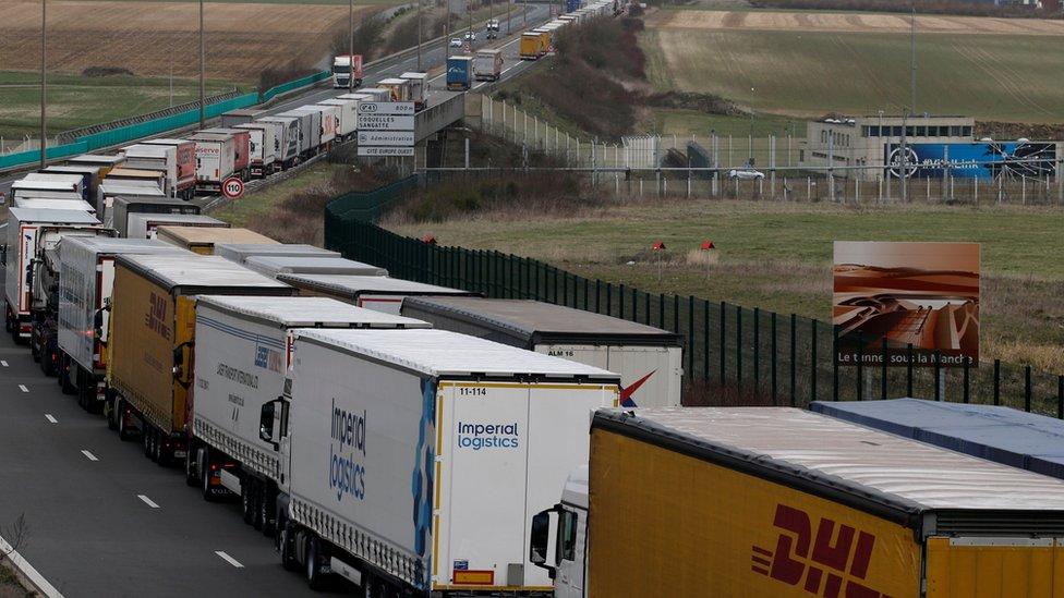 Camiones en Francia