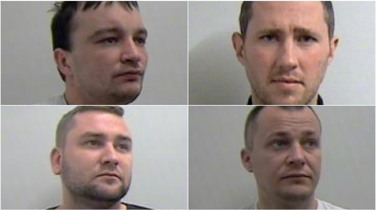Crime gang convicted of people smuggling in West Lothian
