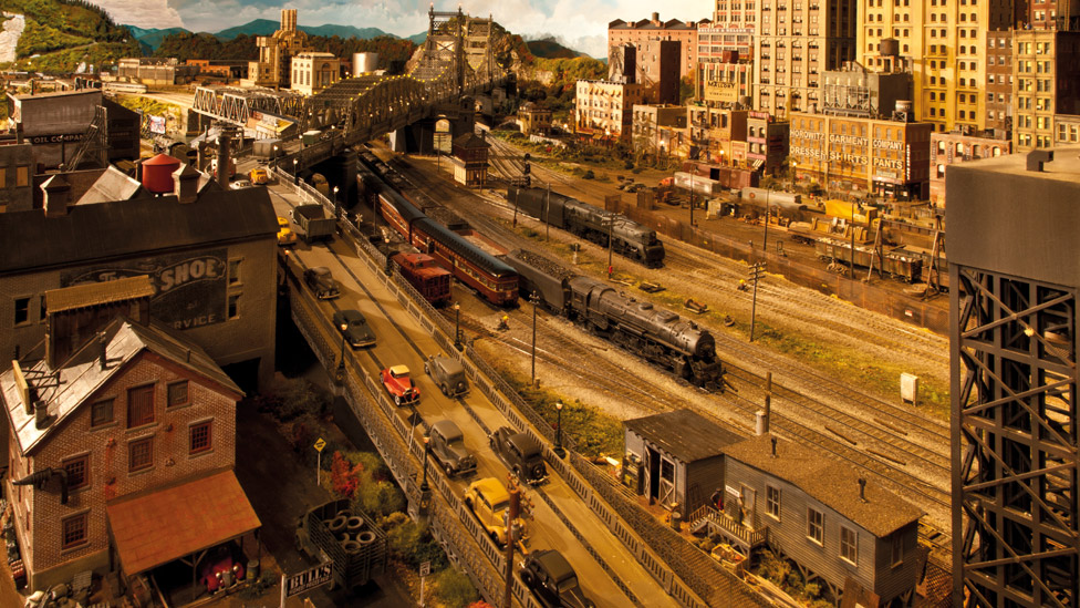 Rod Stjuart i njegov model grada
