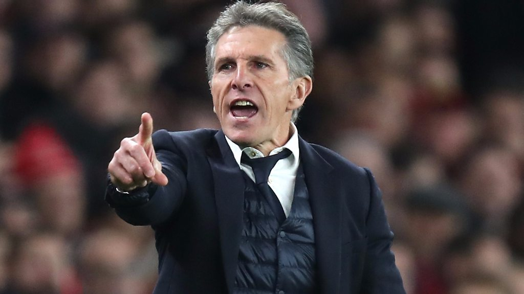 Arsenal 3-1 Leicester: Claude Puel 'angry' that Foxes were denied penalty