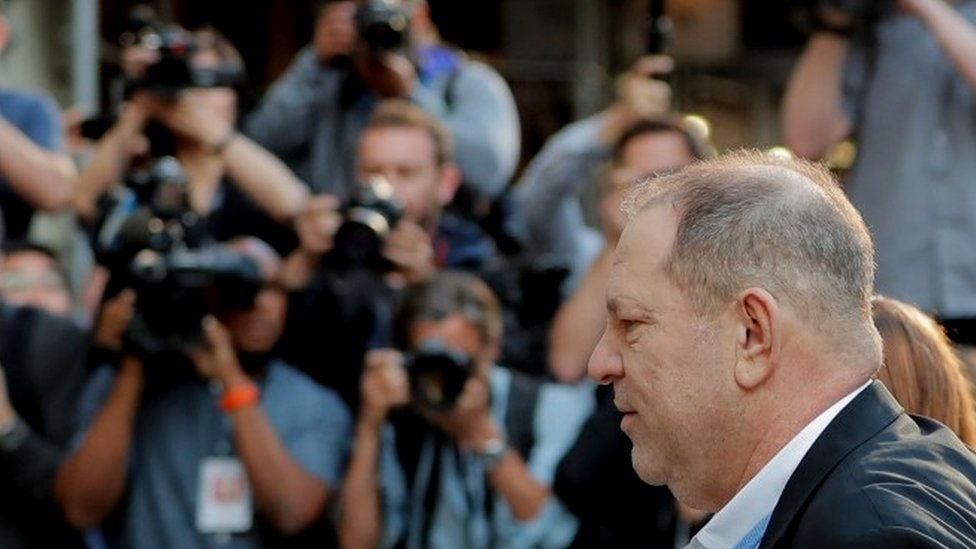 Harvey Weinstein surrenders to New York police 'to face sex misconduct charges'