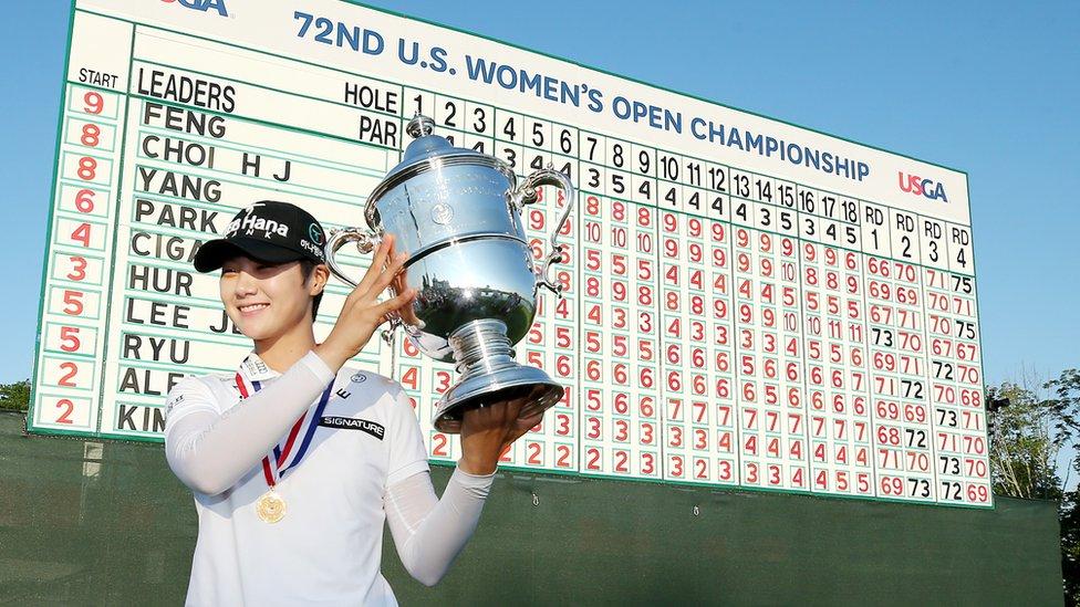 K-golf: South Korea's female golfing phenomenon - BBC News