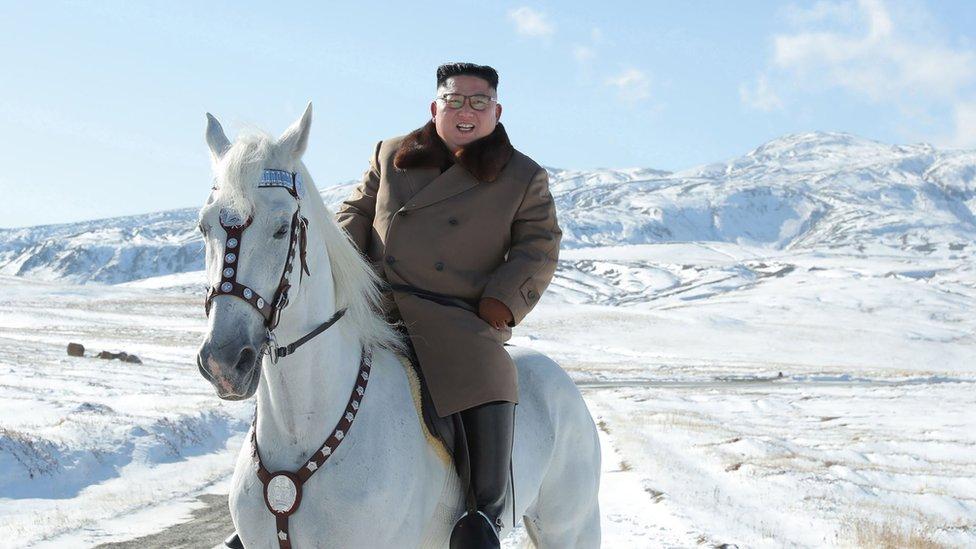 Ким Чен Ын на белом коне на вершине Пэктусан: сигнал Западу?