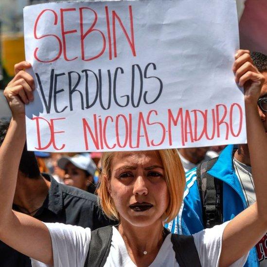 BBC. NO USAR. La muerte de Fernando Albán arrojó grandes sombras sobre la imagen del Sebin.