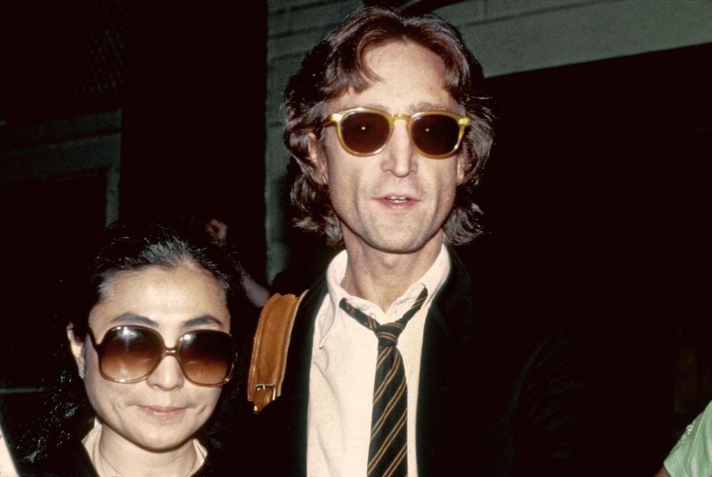 John Lennon y Yoko Ono en 1980