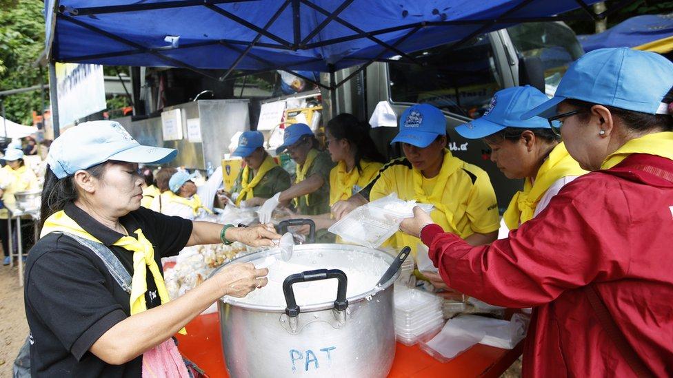 Se conocen las primeras imágenes del rescate de los niños en Tailandia
