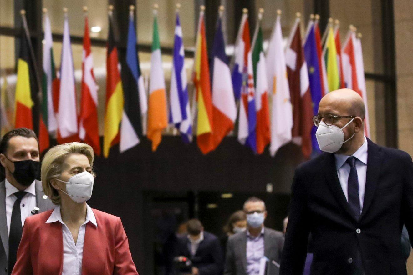 Avrupa Komisyonu Başkanı Ursula von der Leyen ve AB Konseyi Başkanı Charles Michel
