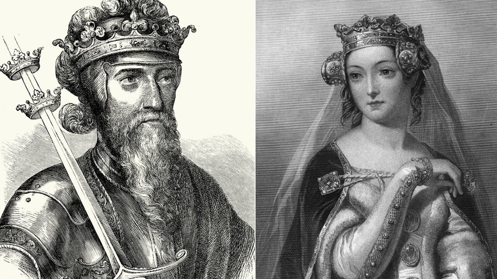 King Edward and Queen Philippa