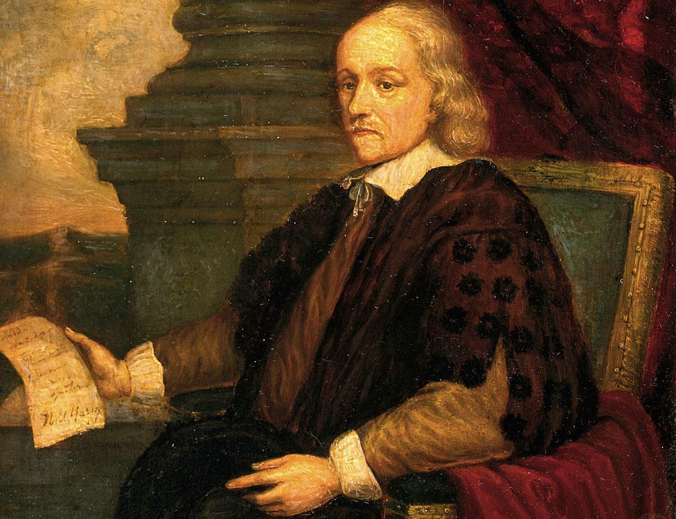 Retrato de William Harvey [1578 - 1657]