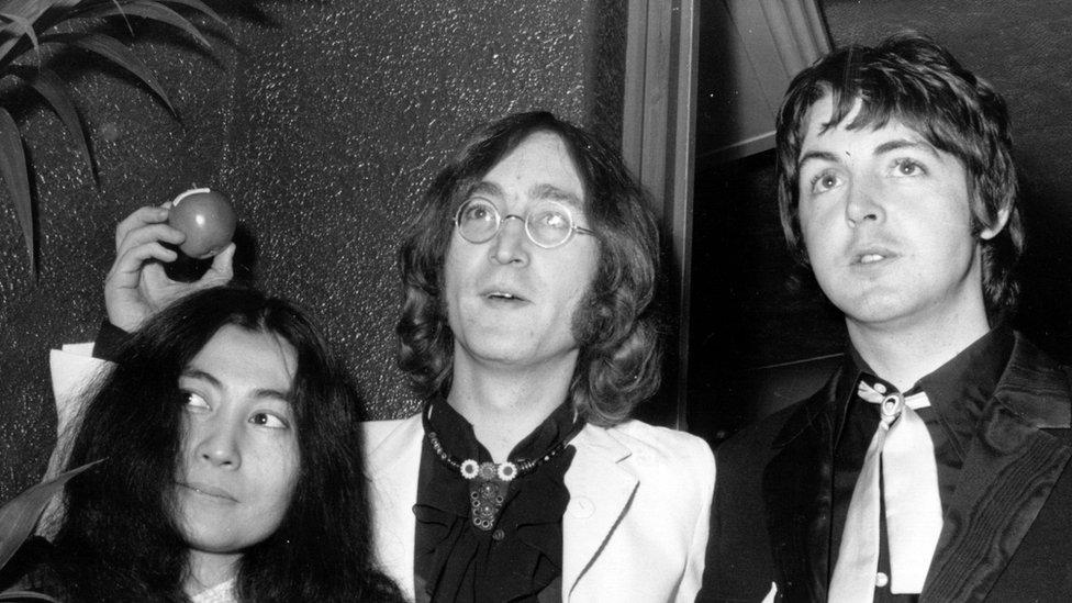 John Lennon S Sunglasses Sell For 137 000 Bbc News