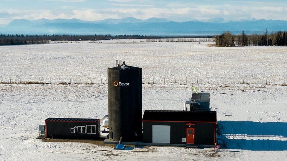 Instalación geotérmica Eavor