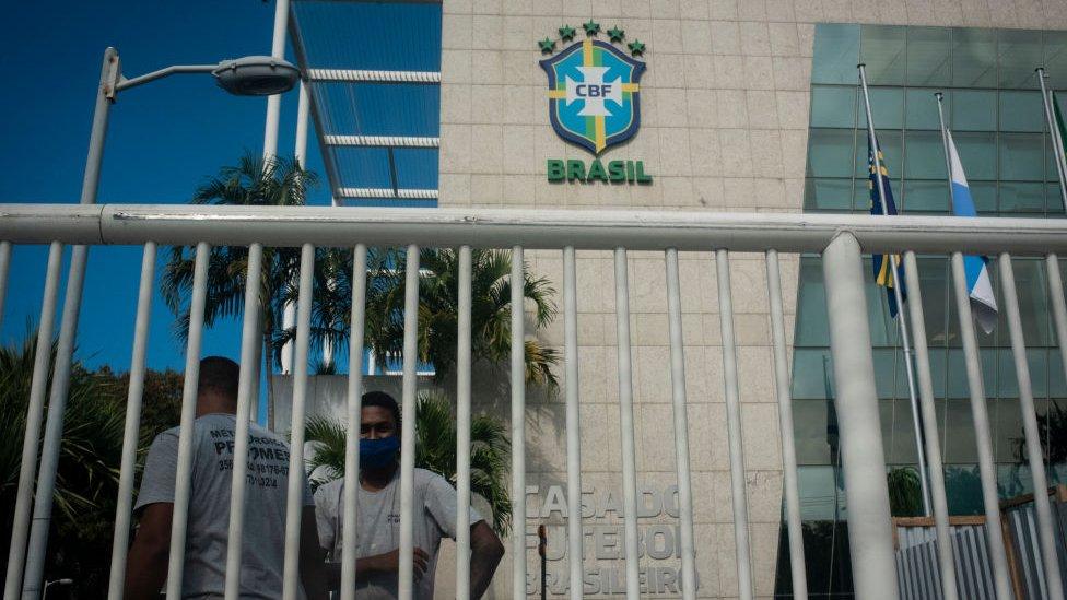 Sede de la Confederación Brasileña de Fútbol.