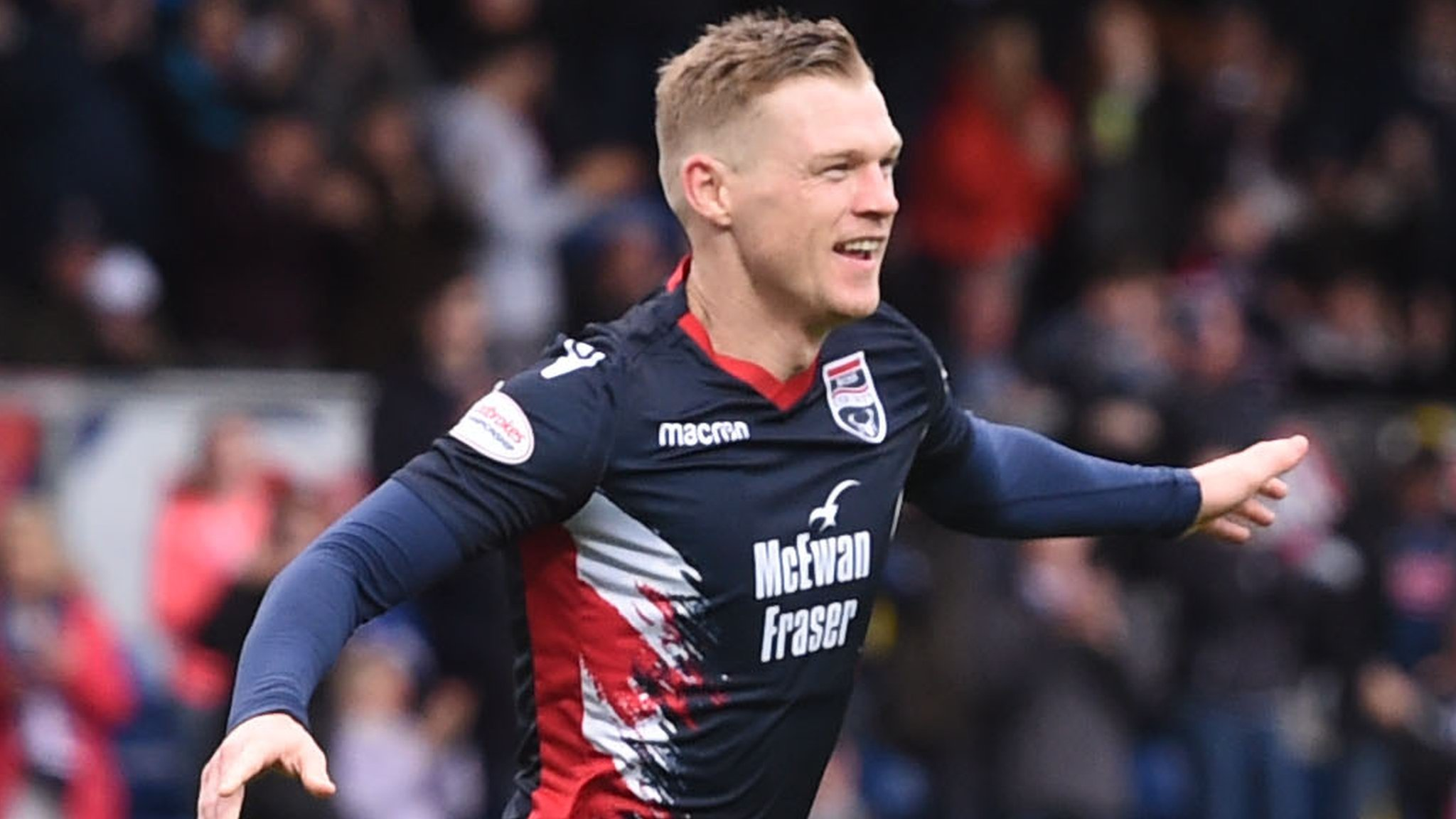Ross County 2-1 Ayr United: Staggies win to go top of Championship