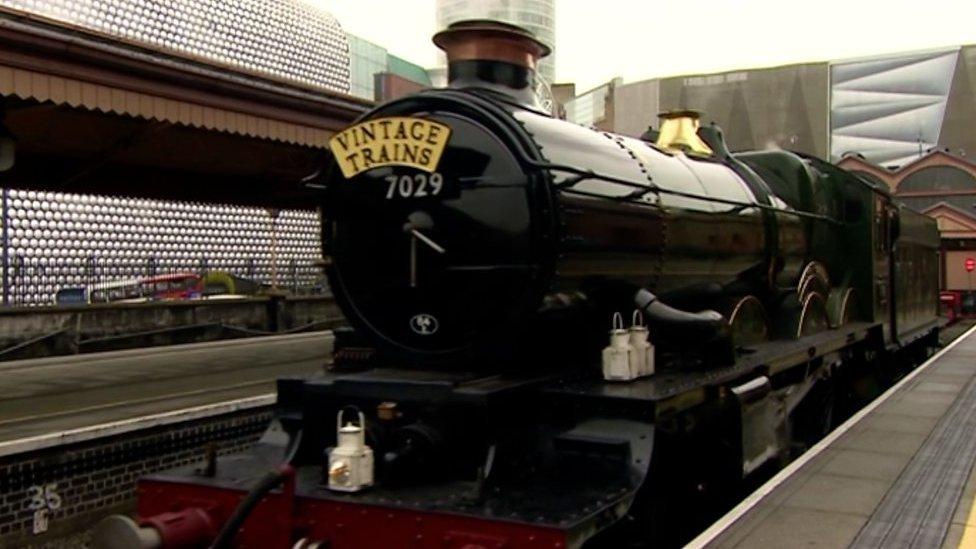 Birmingham and Stratford-on-Avon get more steam trains