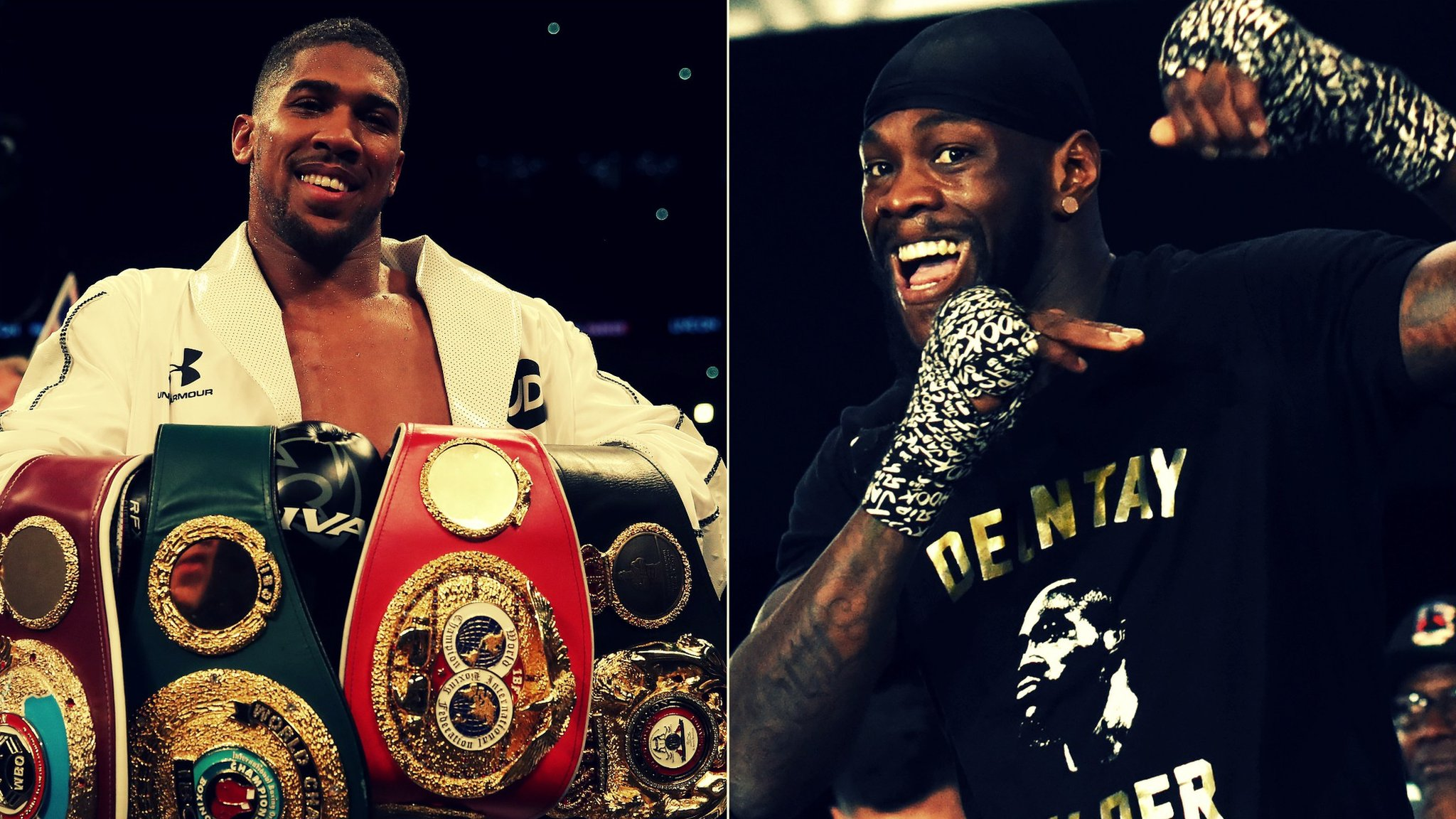 'Wilder just has to sign for Joshua bout' - Hearn