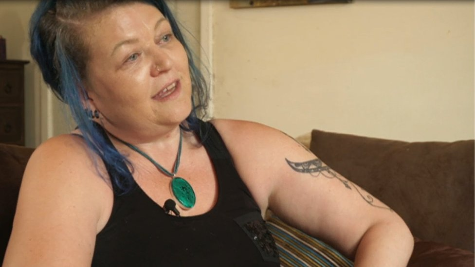 Linda, a foster parent in Liverpool, spoke to the BBC