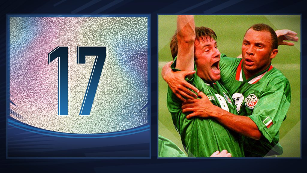 50 Great World Cup moments: Ray Houghton's goal v Italy - 1994