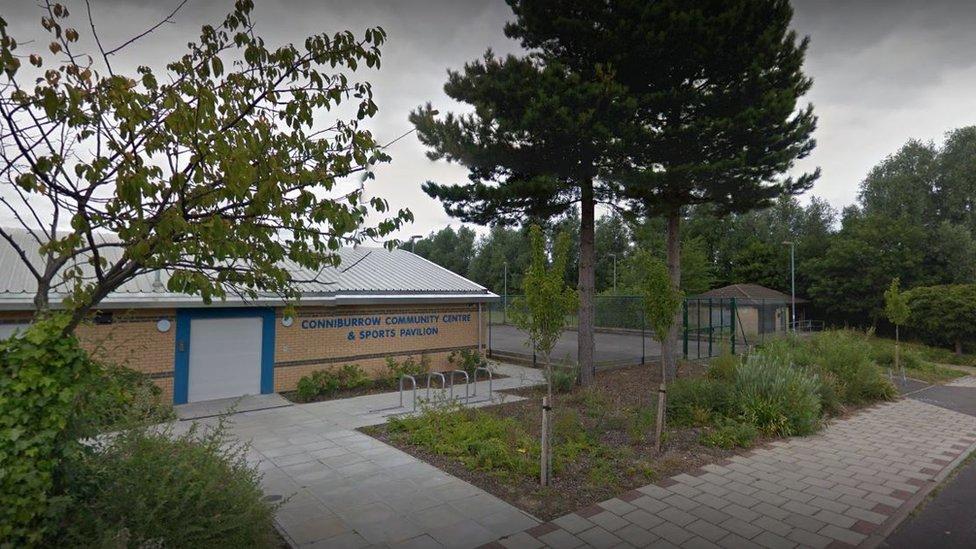 Boy stabbed outside community hall in Milton Keynes