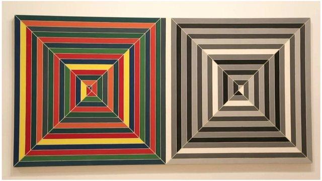 Frank Stella squares