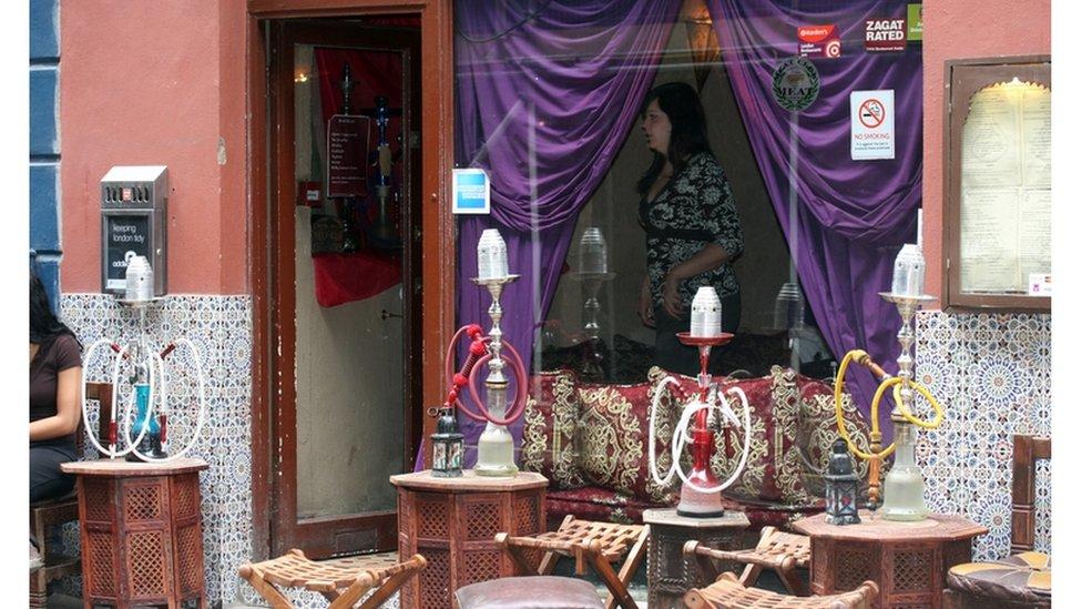 مقهى للشيشة