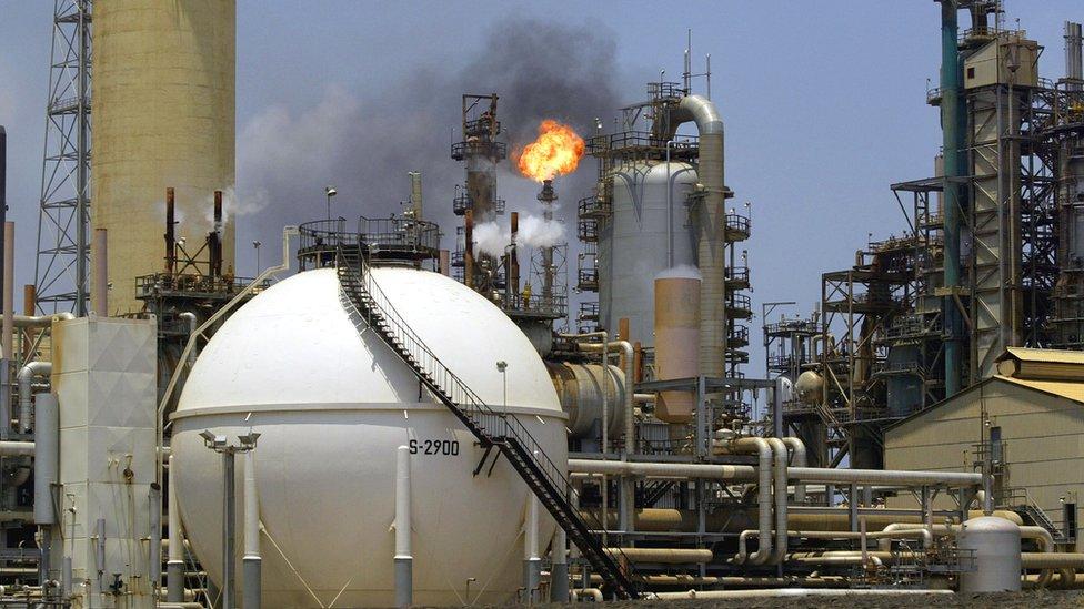 Petrol üretim tesisi