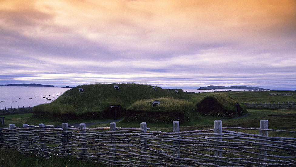 Reconstrucción de las viviendas vikingas