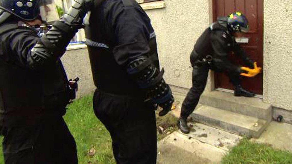 Raids target new wave of drug dealers in Fraserburgh and Peterhead