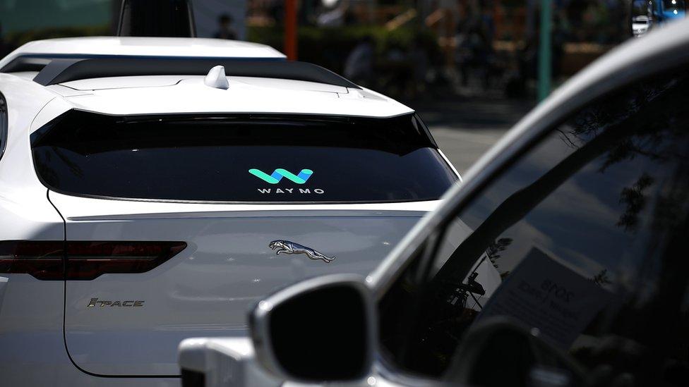 Waymo cars