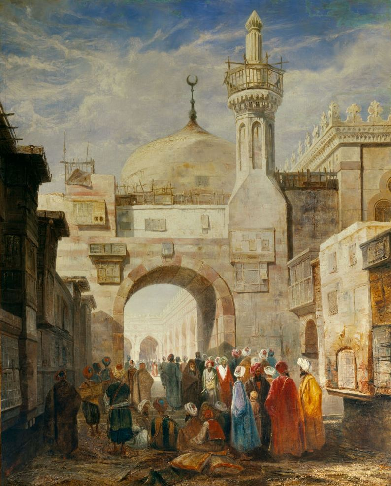 لوحة للجامع الأزهر