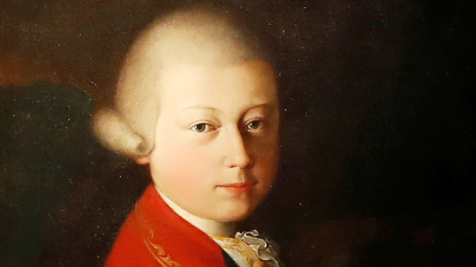 BBC News - Mozart childhood portrait sold for €4m at Paris auction