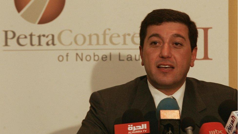 Bassem Awadallah pictured in 2006