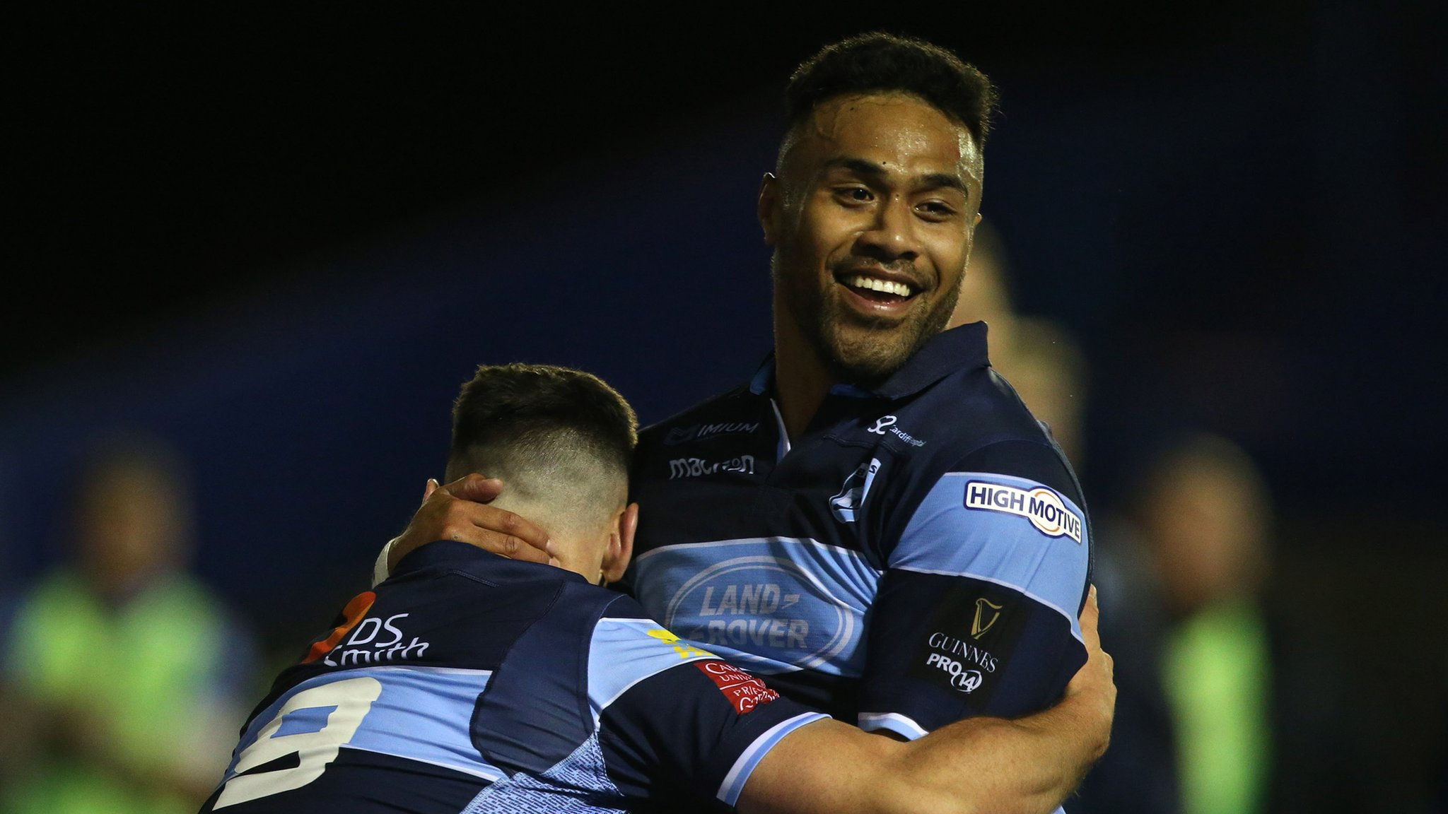 Halaholo leads Cardiff Blues to win over Munster