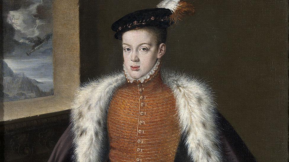 Carlos de Austria y príncipe de Asturias