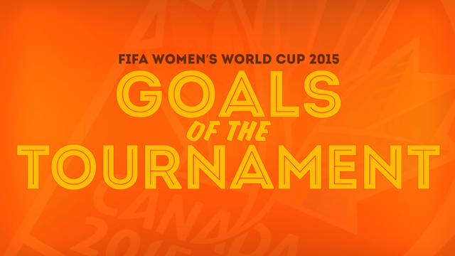 Great goals from the Women's World Cup