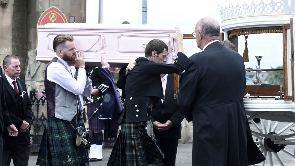 Hundreds attend Alesha MacPhail farewell