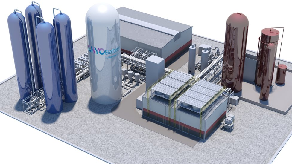 Highview's energy storage facility