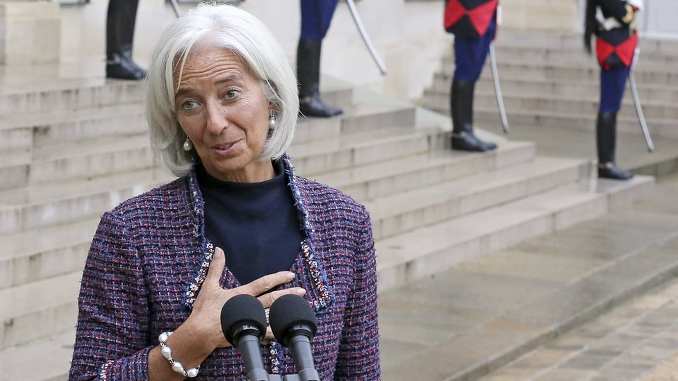 Christine Lagarde in 2013