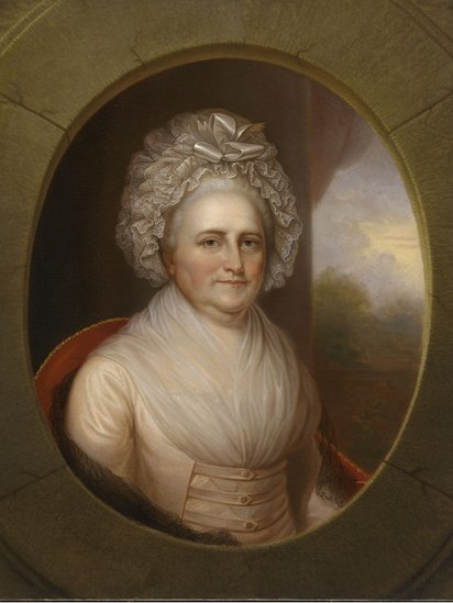 Martha Washington (artista Rembrandt Peale)