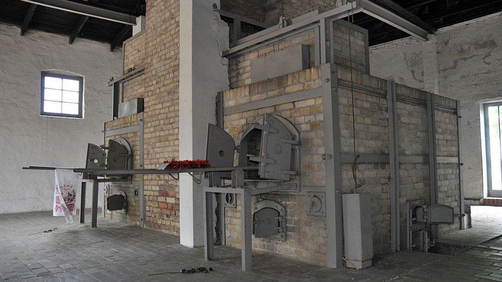 Ravensbrck crematorium