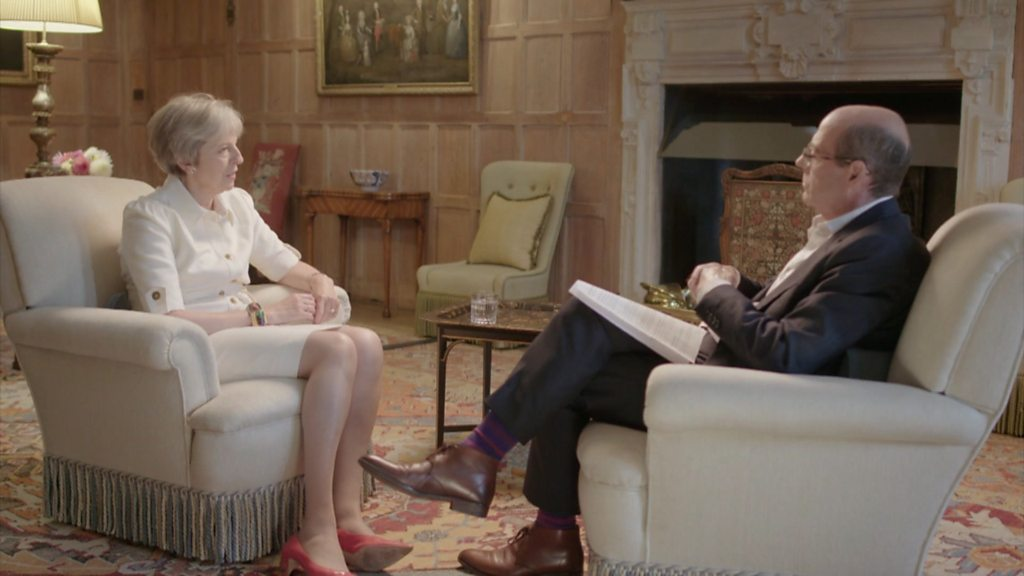 Theresa May hits back at Boris Johnson over Chequers plan